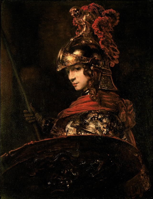 https://commons.wikimedia.org/wiki/File:Pallas_Athena_or,_Armoured_Figure_by_Rembrandt_Harmensz._van_Rijn.jpg
